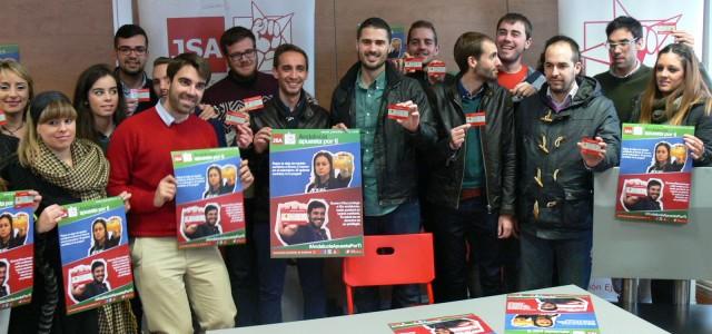 """Juventudes Socialistas de Andalucía exige a Rajoy """"que deje de robar a los jóvenes"""""""