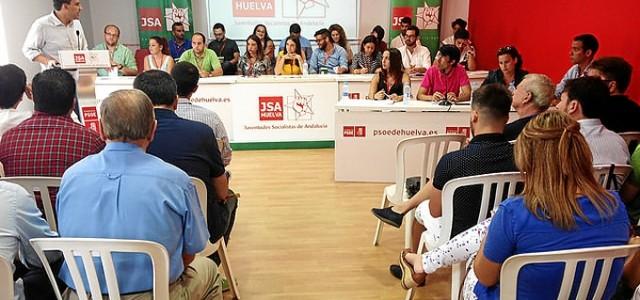JSA asiste al Congreso de las Juventudes Socialistas de Huelva