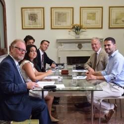 El secretario general de JSA se reúne con el embajador del Reino Unido