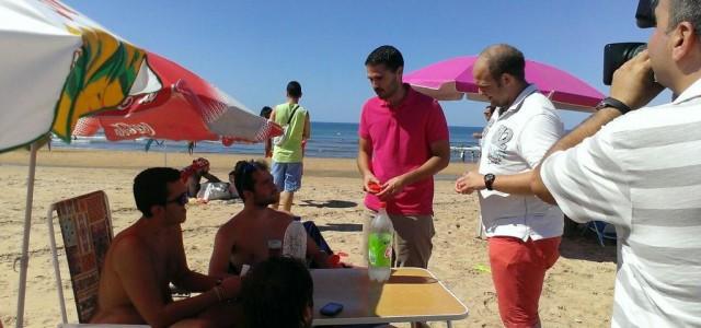 JSA presenta la campaña 'Cuida tu Playa' en Punta Umbría