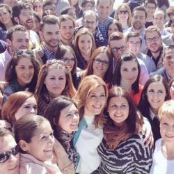 Juventudes Socialistas de Andalucía celebra un encuentro joven con Susana Díaz