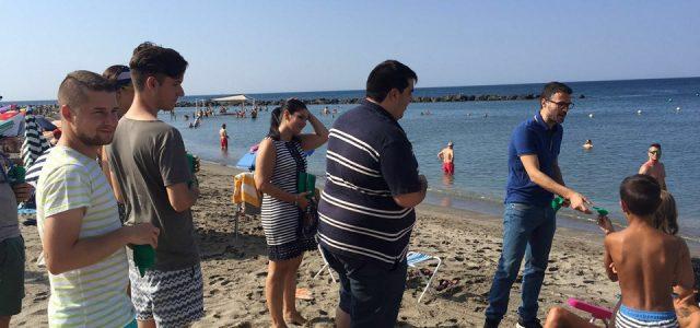 JSA presenta en Almería su campaña 'Cuida tu playa'