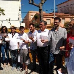 JSA presenta en Algeciras la campaña 'Dale boleto a Rajoy'