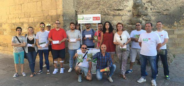 JSA presenta en Córdoba la campaña 'Dale Boleto a Rajoy'