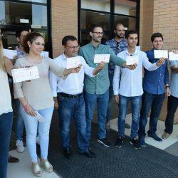 JSA presenta en la Universidad de Málaga la campaña 'Dale Boleto a Rajoy'