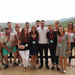 JSA participa en IV Escuela de Verano de Juventudes Socialistas de Granada