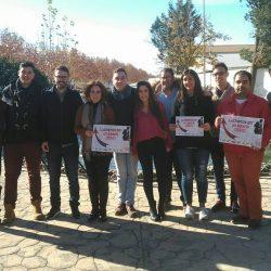 JSA presenta en Villanueva del Trabuco la campaña 'Por un salario digno'