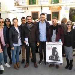 JSA reivindica en Lanjarón la lucha contra la brecha salarial y la erradicación de la violencia de género