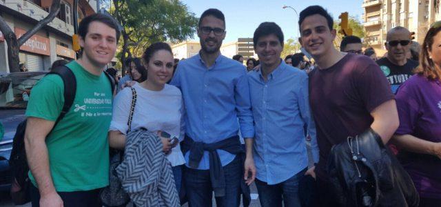 Juventudes Socialistas de Andalucía muestra su apoyo a la Huelga general educativa