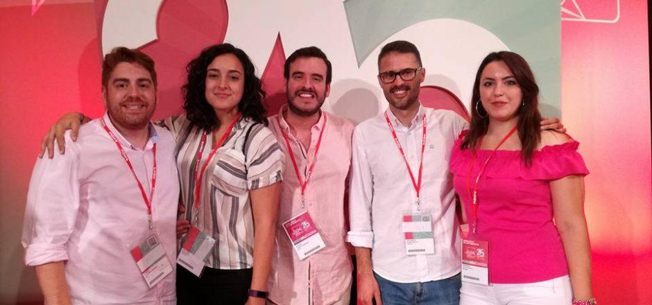 Juventudes Socialistas de Andalucía participa en el Congreso Federal de JSE