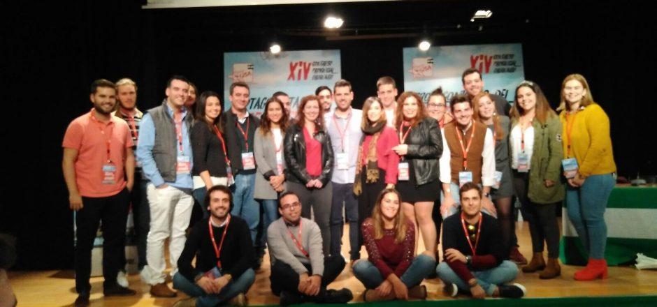 Alejandro Moyano elegido nuevo Secretario general por las Juventudes Socialistas de Sevilla.