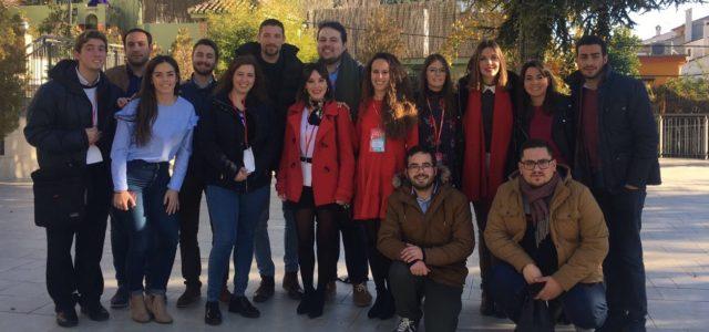 """Patricia Carrasco, nueva Secretaria General de las Juventudes Socialistas de Granada, elegida por sus militantes, bajo el lema """"Construyendo el Futuro"""""""