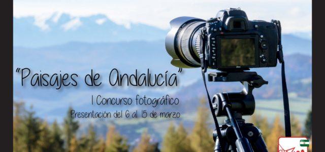 """I Edición del Concurso fotográfico """"Paisajes de Andalucía"""""""